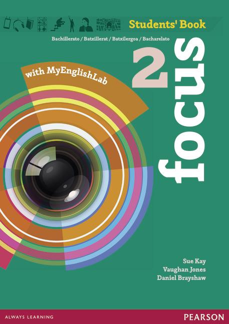 Focus Spain 2 Students' Book & MyEnglishLab Pack