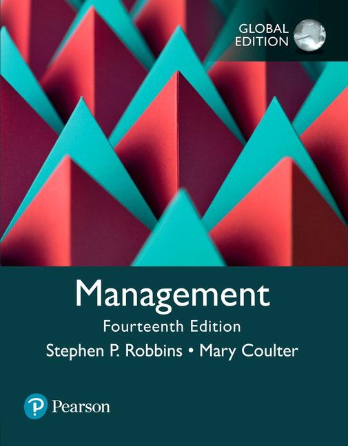 Management, Global Edition, 14/e (e-Book VS 12m)