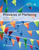 Principles of Marketing, Global Edition, 17/e (e-Book VS 12m)