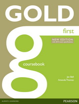 Gold First NE Coursebook w/ online audio (with 2015 exam specifications)