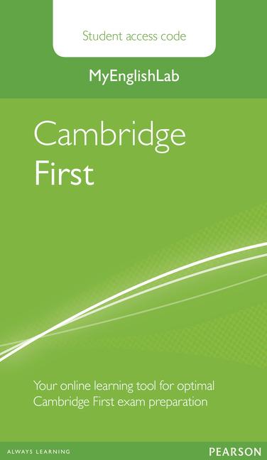 MyEnglishLab Cambridge First Standalone Student Access Card