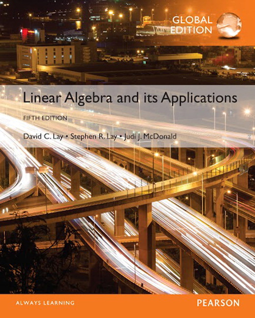 Linear Algebra and Its Applications, Global Edition, 5/E (e-Book VS 12m)