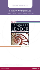New Language Leader Upper-Intermediate eText and MyEnglishLab Online Access Code