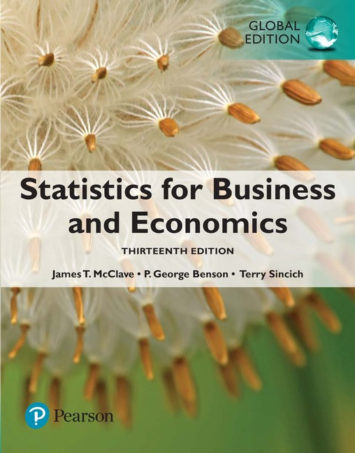 Statistics for Business and Economics, 13e (e-Book VS 12m)