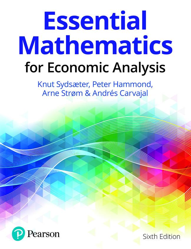 Essential Mathematics for Economic Analysis eBook VS-12 months