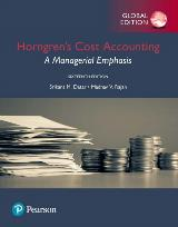 Pearson MyLab Accounting válido para Horngren's Cost Accounting: A Managerial Emphasis, Global Edition, 16e