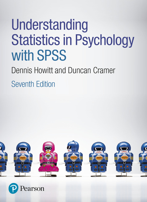Understanding Statistics in Psychology with SPSS, 7e (e-Book VS 12m)